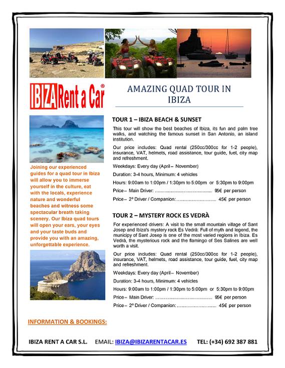 QUAD TOURS IBIZA